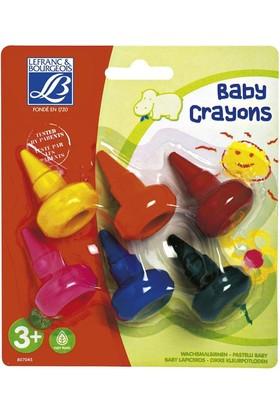 L&B Eğitici Bebek Pastel Boya Kalemleri