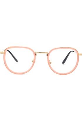Fevale Yuvarlak Gözlük- Pembe