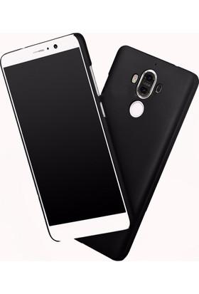 Microcase Huawei Mate 9 Slim Sert Rubber Kılıf+Tempered Glass