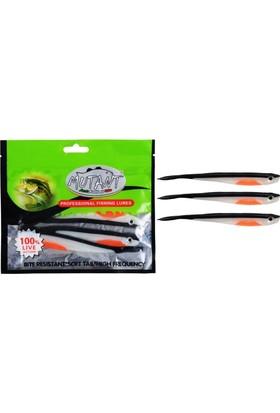 Mutant 3525 02 Balık Anıbal Soft 13 Cm 10 gr 3 Lü Pk