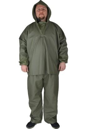 Kaptan Yağmurluk Balıkçı Takımı Üstten Giymeli
