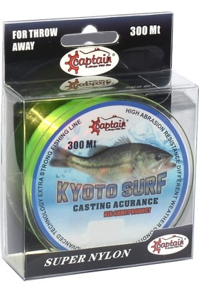 Captain Kyoto Surf Makara Misina Sarı 300 Mt 0,40 mm