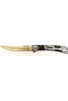 Columbia A3159-A Tiger Full Rivet Knife