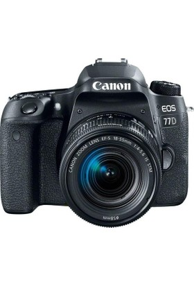 Canon EOS 77D 18-55mm f/4-5.6 IS STM Fotoğraf Makinesi