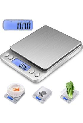 Dijital Hassas Terazi Tartı 500 gr./0.01 gr. thr124