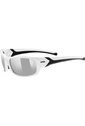Uvex Sportstyle 211 White-Black / Ltm Silver Güneş Gözlüğü