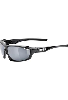 Uvex Sportstyle 710 Black Mat / Mirror Silver Güneş Gözlüğü