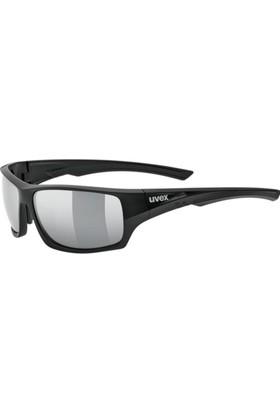 Uvex Sportstyle 222 Pola Black Mat / Silver Güneş Gözlüğü