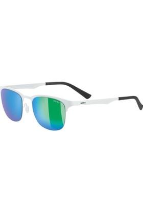 Uvex Lgl 32 White / Mirror Green Güneş Gözlüğü