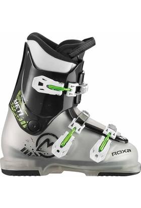 Roxa Yeti 3 Çocuk Kayak Ayakkabı Siyah / Yeşil