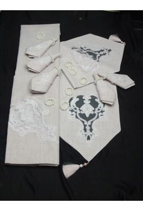 Ev Tekstili Mutfak Tekstili Yemek Takımı