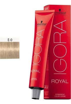 Schwarzkopf Igora Royal E.0 Saç Boyası Teknik Renkler 60ml