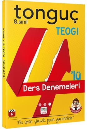 Tonguç Akademi Yayınları 8.Sınıf TEOG 14'lü Deneme Seti