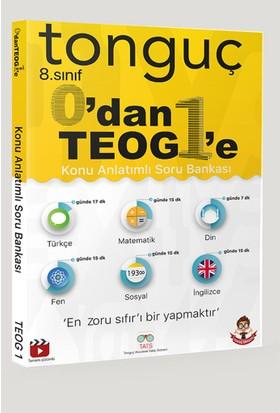 Tonguç Akademi Yayınları 8. Sınıf 0 Dan TEOG 1'E Konu Anlatımlı Soru Bankası
