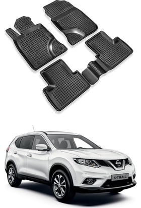 ModaCar ExclusivE Nissan X-Trail 2014 >> 3D Havuzlu Paspas 104824