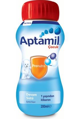 Aptamil Çocuk Sıvı Devam Sütü 200 ml