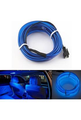 ModaCar Mavi Araç İçine Neon Kablo 2 Metre 378815