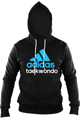 Adidas AdiCHTKD Taekwondo Erkek Sweatshirt Siyah - Mavi