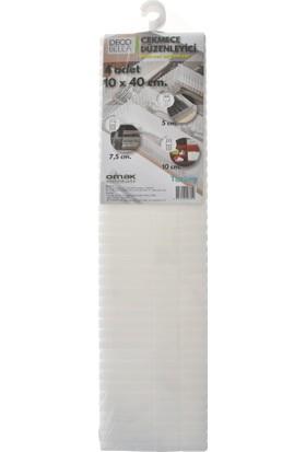 Decobella® Çekmece Düzenleyici 4 'Lü 10 X 40 Cm