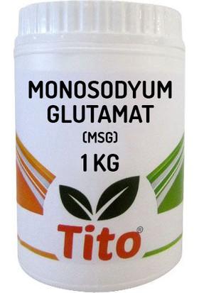 Tito Monosodyum Glutamat MSG Çin Tuzu Gıda Tipi 1 kg