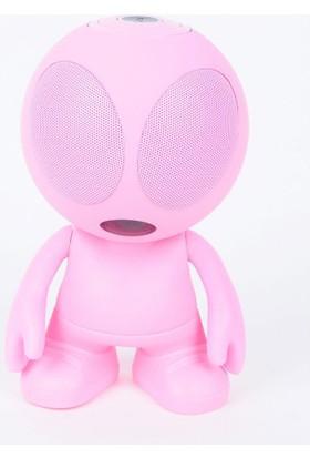 Technostyle Technoman Dekorlu Bluetooth Speaker Hoparlör