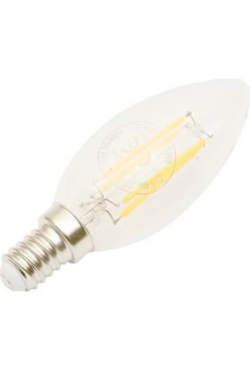 Maxıma 4W Filament Led Ampul Dimmerli - E14 Sarı Işık