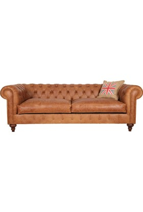 Old English Leather Chesterfield