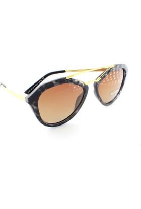Bruno Mazzini 6016 C4 53 Polarize Kadın Güneş Gözlüğü