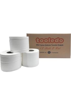 Tooledo Mini Cimri İçten Çekmeli Tuvalet Kağıdı 4 KG