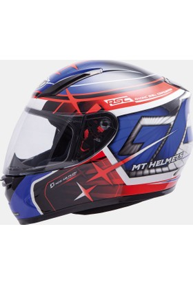 MT Kask MT Rep. GP Gloss Blue/Red/Black Full Face