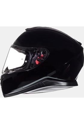 MT Kask MT Thunder 3 SV Solid Gloss Black Full Face Güneş Vizörü