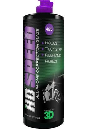 3D Hd Speed - All-In-One Polish & Wax 500 Ml. 425 Oz 16
