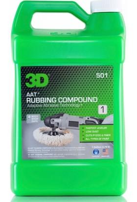 3D AAt Rubbing Compound Çizik Giderici Pasta 3.78 Lt. 501 G 01