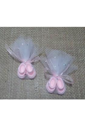 Miss Cici Pembe Patikler 25 Adet Kokulu Taş Bebek Şekeri