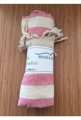 Özdilek Modaletto Bambu Peştamal 85X180 Pembe