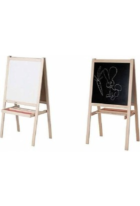 Ikea Mala Çift Taraflı Yazı Tahtası Ahşap
