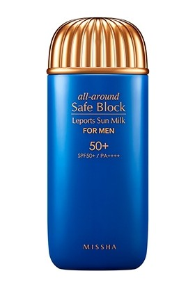 Missha All Around Safe Block Leports Sun Milk For Men SPF50+/PA++++