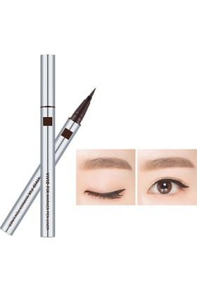 Missha Vivid Fix Brush Pen Liner (Deep Brown)