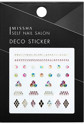 Missha Self Nail Salon Deco Sticker(No.5/Cube Holic)