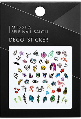 Missha Self Nail Salon Deco Sticker(No.6/My POP Art)