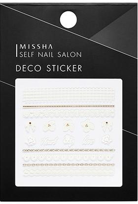 Missha Self Nail Salon Deco Sticker(No.8/Wedding Flower)