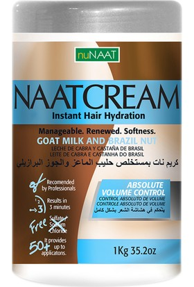 Nunaat Cream Goat Milk And Brazil Nut 1.000Gr