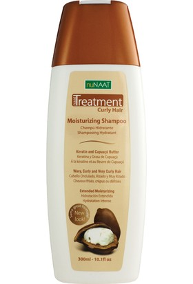 Nunaat Repair Curly Moisturizing Shampoo (300Ml)
