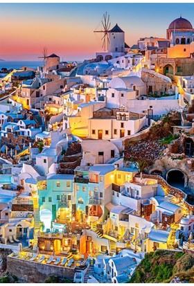 Castorland Santorini Işıkları 1000 Parça Puzzle