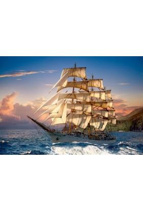 Castorland Gün Batımında Yelkenli Puzzle (1500 Parça)