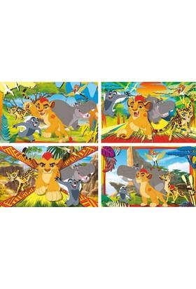 Clementoni 07608 The Lion Guard 4'lü Puzzle Seti (20+20+60+60)