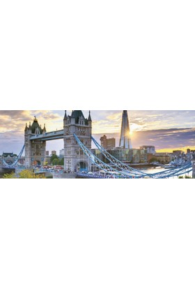 Jumbo 1000 Parça Panorama Puzzle (Tower Bridge - Londra)