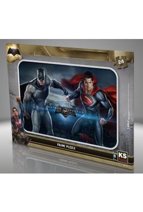 KS Games Batman v Süperman 24 parça Frame Puzzle