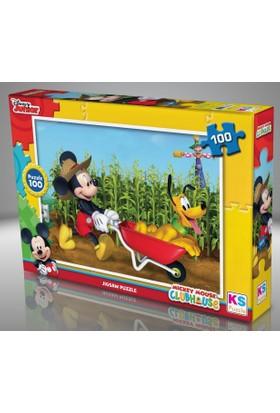 Ks Games 100 Parça Mickey Mouse Yapboz