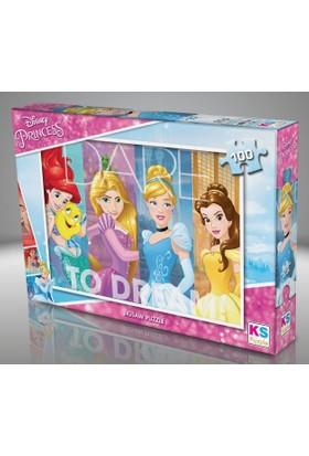 Ks Games 100 Parça Puzzle Prensesler Puzzle